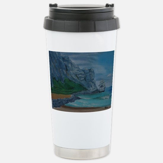 Morro Bay a shirt Stainless Steel Travel Mug