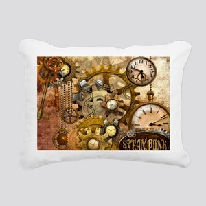 time Rectangular Canvas Pillow