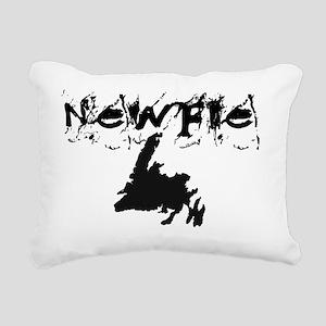 Newfoundland Clothing Rectangular Canvas Pillow