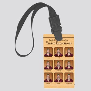 Yankee Guide Magnet Large Luggage Tag