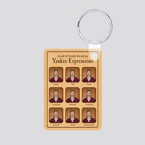 Yankee Guide Magnet Aluminum Photo Keychain