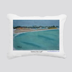 Santa Cruz Left a shirt Rectangular Canvas Pillow