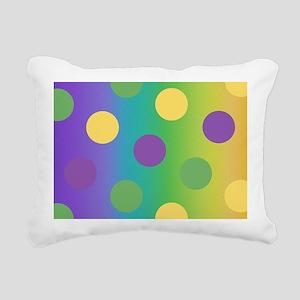 MGpggDotLgcBeBag Rectangular Canvas Pillow