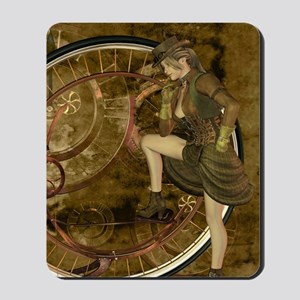 victorian woman Mousepad