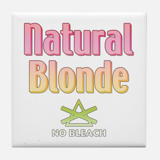 Natural Blonde Tile Coaster