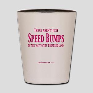 SpeedBumps Shot Glass