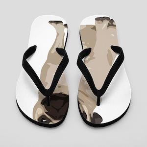 Pug copy Flip Flops