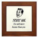 Trust Me Male Framed Tile