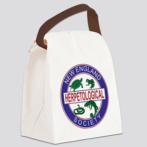 NEHS Logo Canvas Lunch Bag