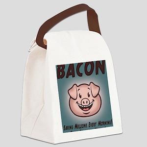 bacon-vegan-BUT Canvas Lunch Bag