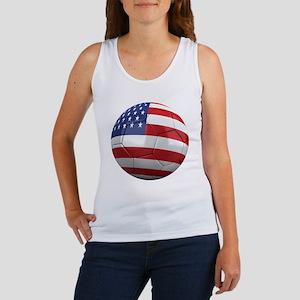 usa round Women's Tank Top