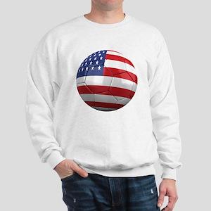 usa round Sweatshirt