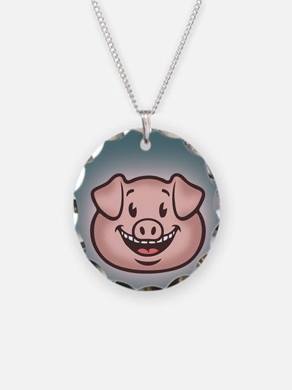 bacon-vegan-CRD Necklace