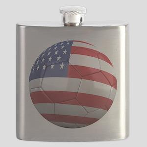 usa round Flask