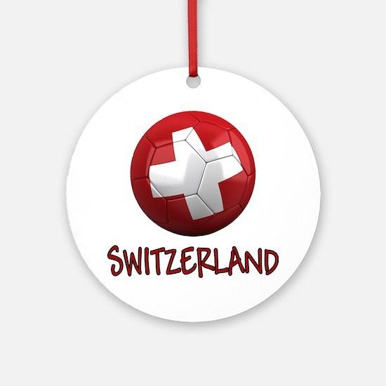 switzerland ns Round Ornament
