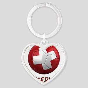 switzerland ns Heart Keychain