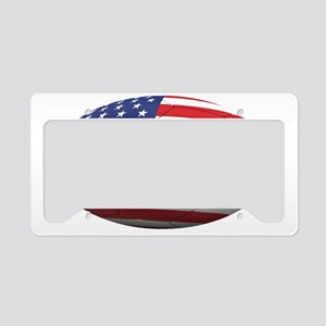 usa oval License Plate Holder