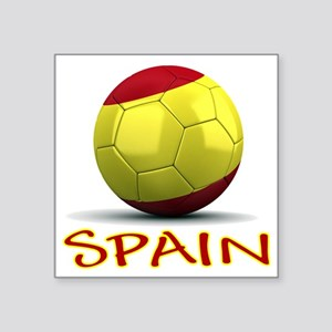 "spain Square Sticker 3"" x 3"""