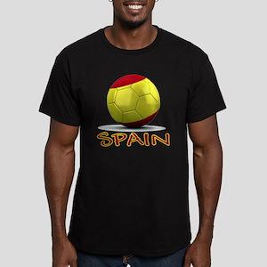 spain Men's Fitted T-Shirt (dark)