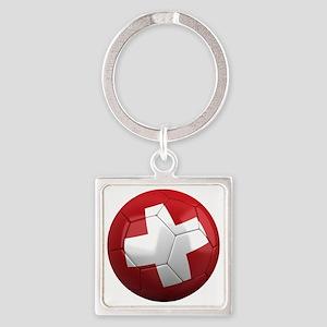 switzerland round Square Keychain
