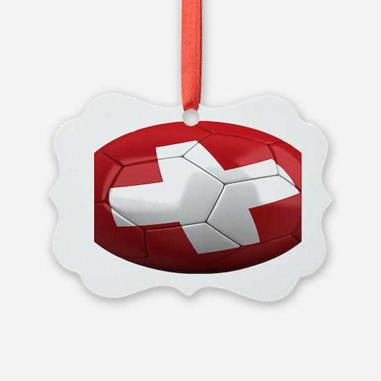 switzerland oval Ornament