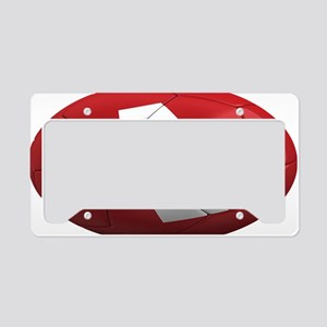 switzerland oval License Plate Holder