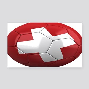 switzerland oval Rectangle Car Magnet