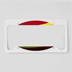 spain oval License Plate Holder