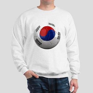 south korea round Sweatshirt