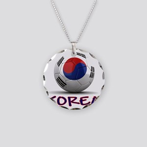south korea Necklace Circle Charm