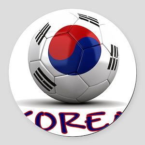 south korea Round Car Magnet