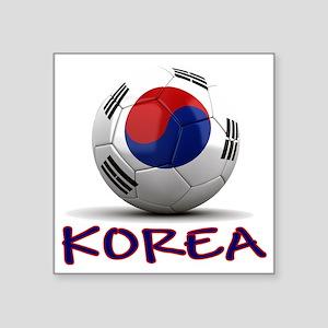 """south korea Square Sticker 3"""" x 3"""""""