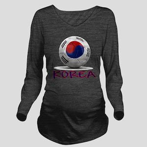 south korea Long Sleeve Maternity T-Shirt