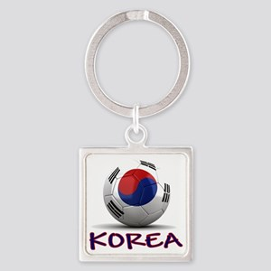 south korea Square Keychain
