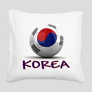 south korea Square Canvas Pillow
