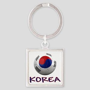 south korea ns Square Keychain
