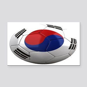 south korea oval Rectangle Car Magnet