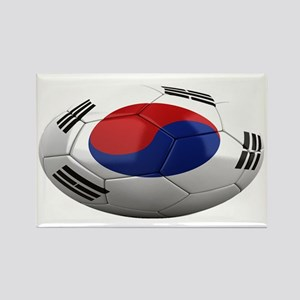 south korea oval Rectangle Magnet