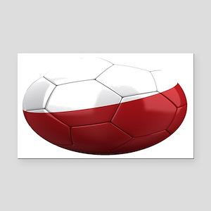 poland oval Rectangle Car Magnet