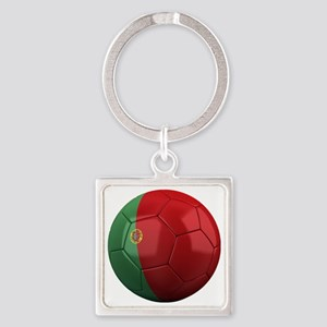 portugal round Square Keychain