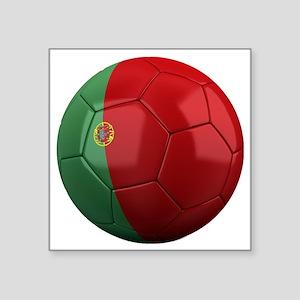 """portugal round Square Sticker 3"""" x 3"""""""
