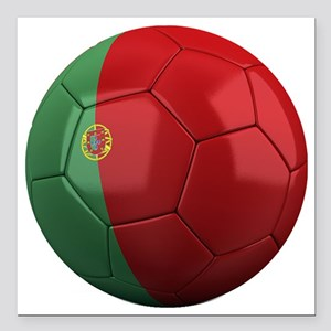 "portugal round Square Car Magnet 3"" x 3"""