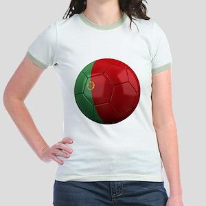 portugal round Jr. Ringer T-Shirt