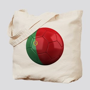 portugal round Tote Bag