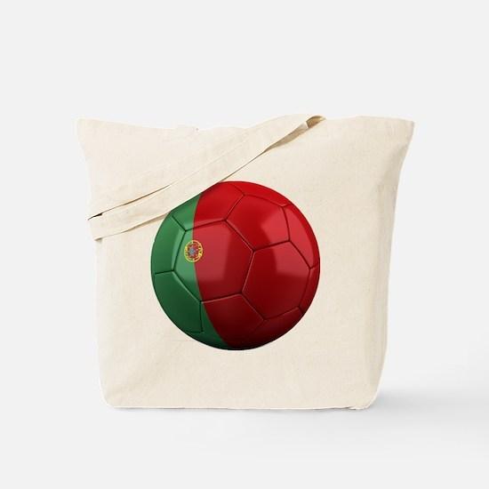 portugal round Tote Bag