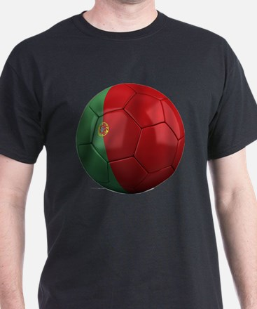 portugal round T-Shirt