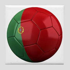 portugal round Tile Coaster