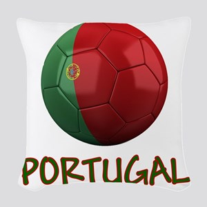portugal ns Woven Throw Pillow