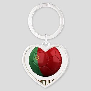portugal ns Heart Keychain