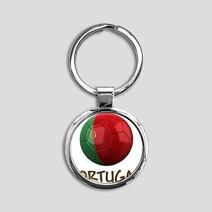 portugal ns Round Keychain